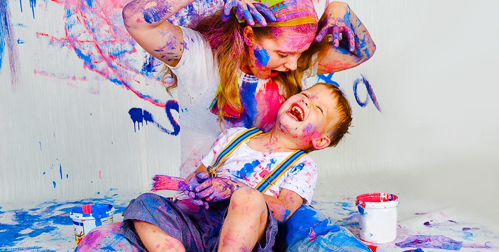 Quante volte ride tuo figlio in una giornata?